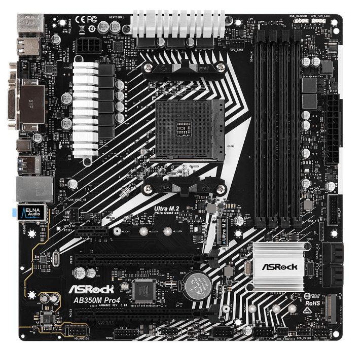 ASRock-AB350M-Pro4