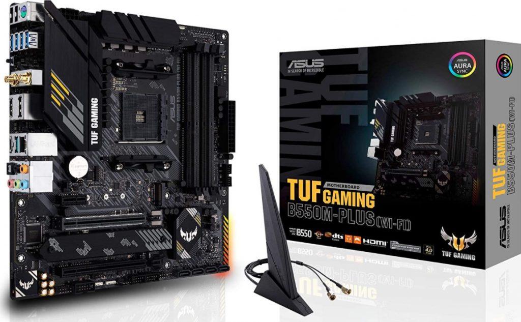ASUS TUF Gaming B550M-PLUS AM4