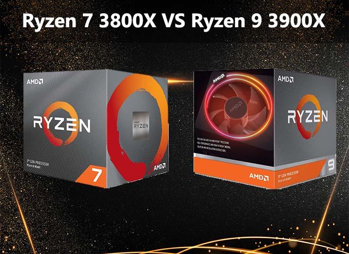 Ryzen 7 3800X vs Ryzen 9 3900X