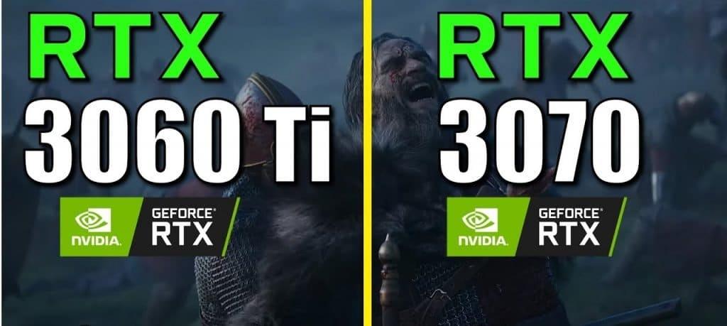 RTX 3060 Ti vs RTX 3070