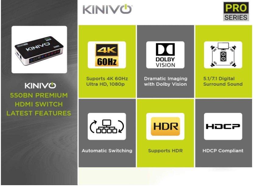 Kinivo 550BN  HDMI Switch