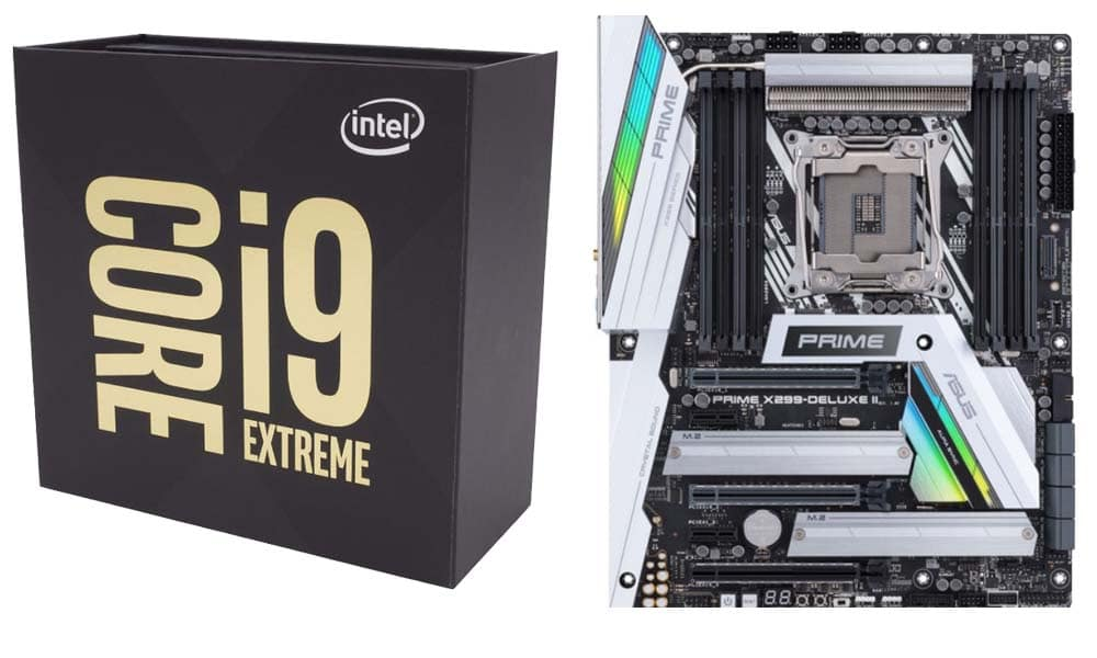 Intel Core i9-9980XE Extreme Edition + ASUS Prime X299 Deluxe II