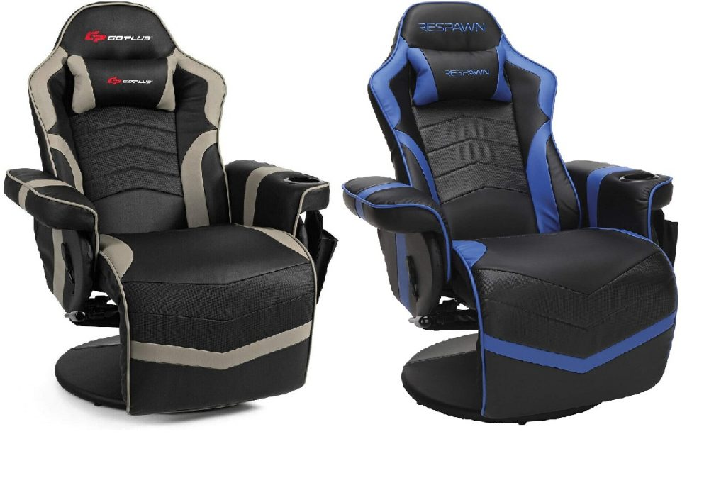 Gaming chairs with cup holders
