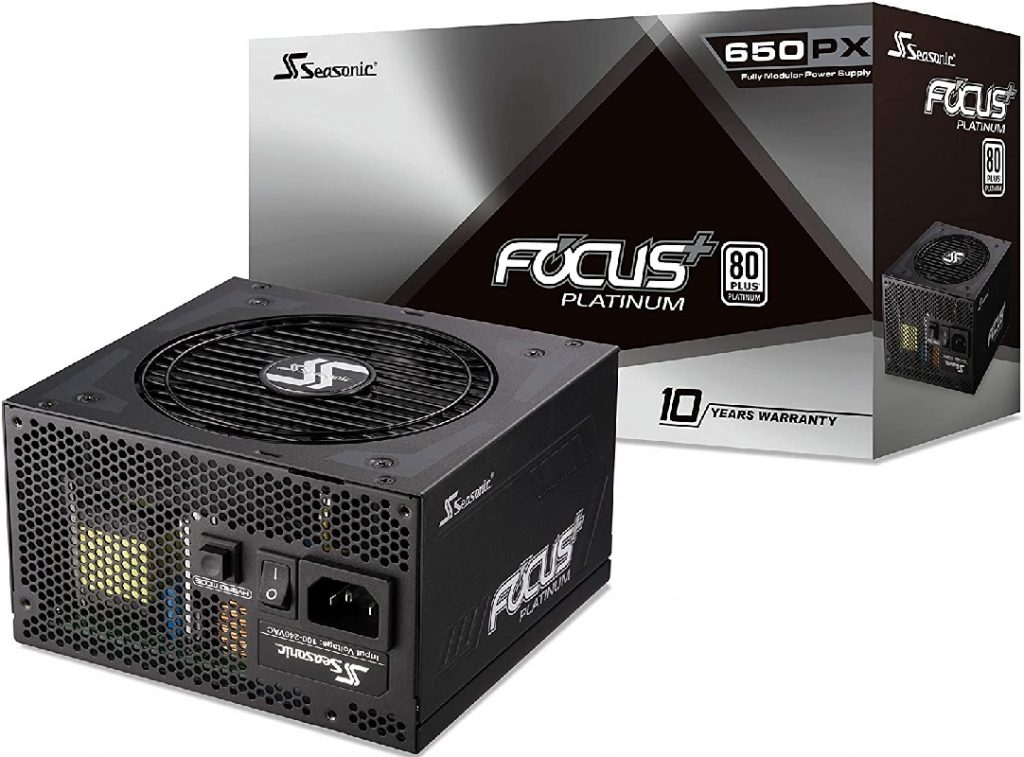 Seasonic FOCUS Plus Platinum SSR 650PX