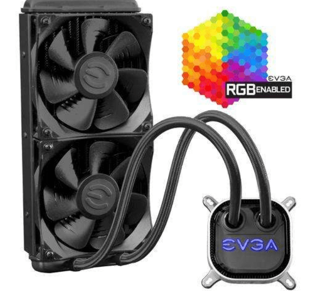 EVGA-CLC-240mm-RGB-LED-Liquid-CPU-Cooler
