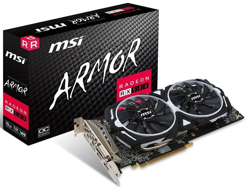 MSI VGA RX 580 ARMOR