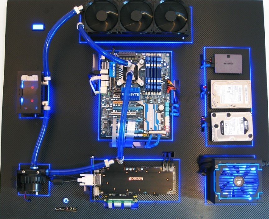 Wall Mounted PC Build