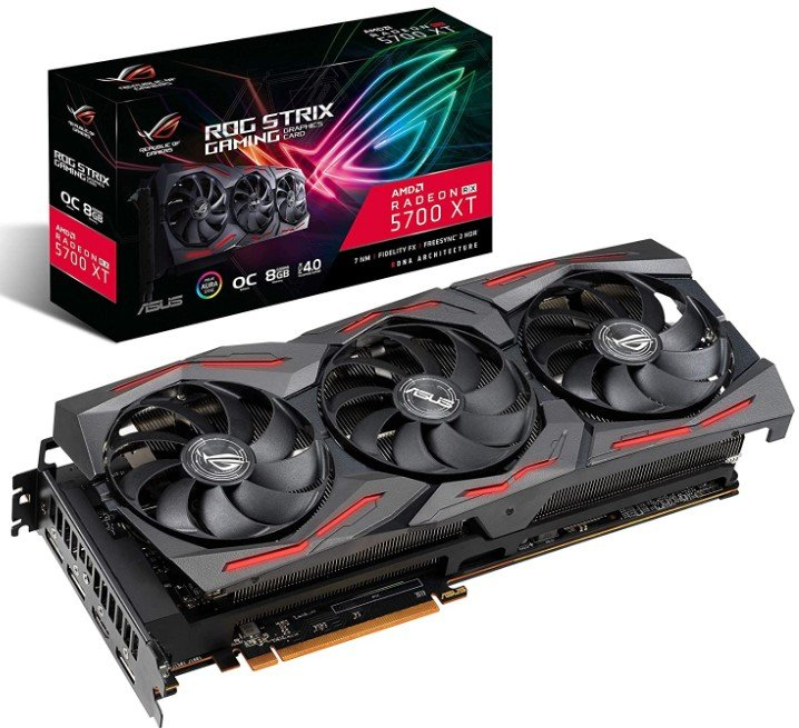 AMD-Radeon-RX-5700XT-overclocked-8GB-GDDR6-(ASUS-ROG)