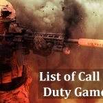 List of Call of Duty Games In Chronological Order (COD)