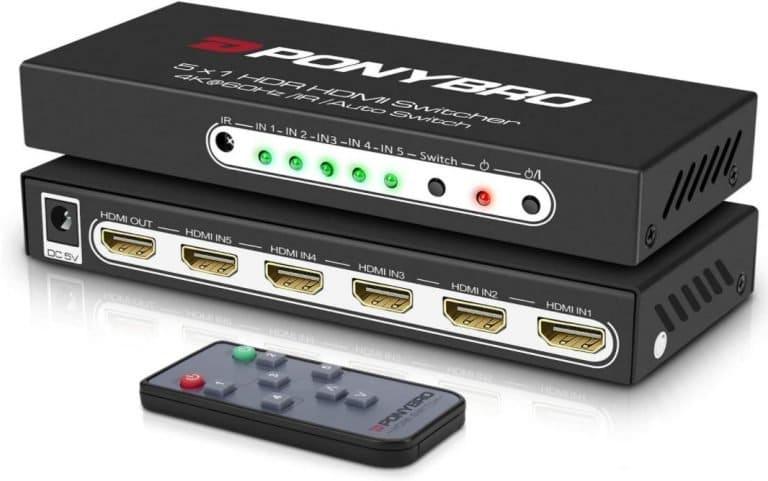 PONYBRO-HDMI-switch-6-port-4K