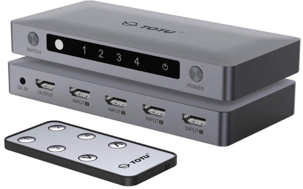 TOTU HDMI switch 4 ports
