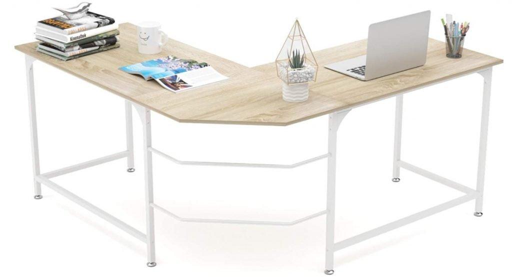 "Elephance 59"" Large L shaped desk"
