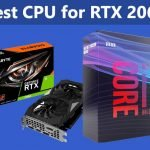 Best CPU for RTX 2060 and 2060 Super