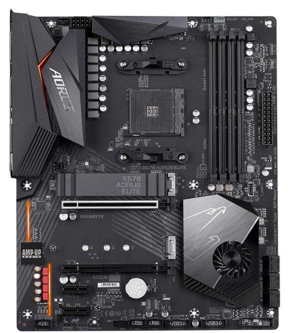Gigabyte X570 Aorus Elite design