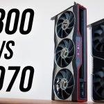 Radeon RX 6800 vs RTX 3070 in 2021